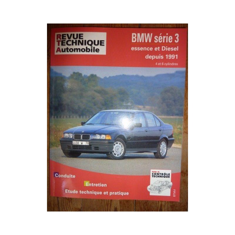 rta revue technique bmw serie 3 depuis 1991 essence et diesel. Black Bedroom Furniture Sets. Home Design Ideas