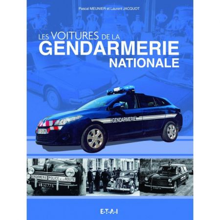 Véhicules de la gendarmerie nationale - Livre
