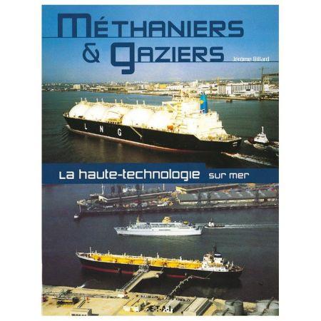 Methaniers & Gaziers - Livre