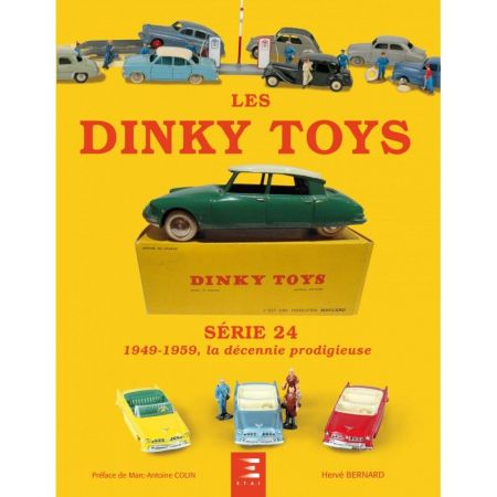 Les Dinky Toys série 24 - 49-59 - Livre