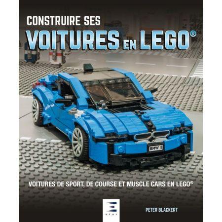 Construire ses voitures en Lego - Livre