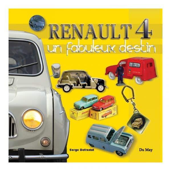 Renault 4, un fabuleux destin - Livre