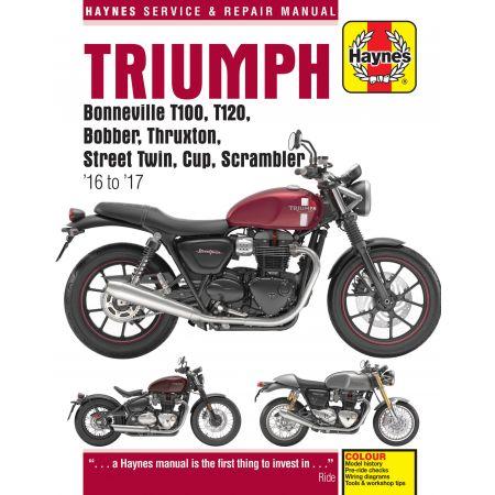 Bonneville 16-17 Revue technique Haynes TRIUMPH Anglais