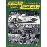 Voitures françaises 1945-1950 - livre