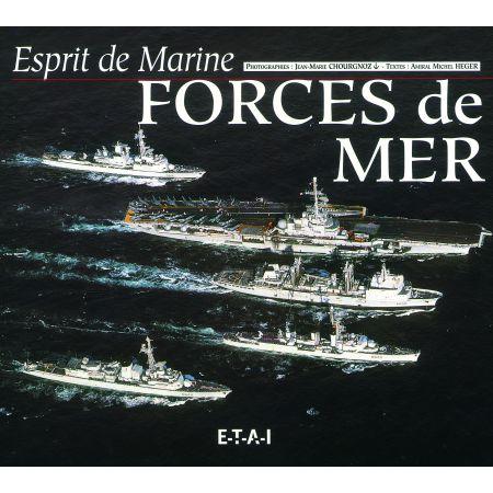 ESPRIT DE MARINE, FORCES DE MER  - livre