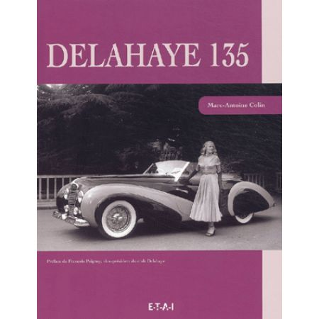 DELAHAYE 135 - livre