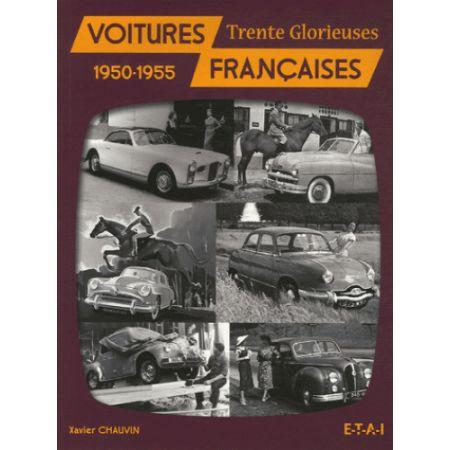 VOITURES FRANÇAISES 50-55 - livre