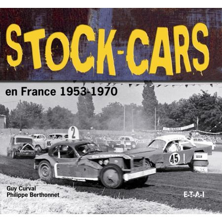 STOCK CARS EN FRANCE, 53-70 - livre