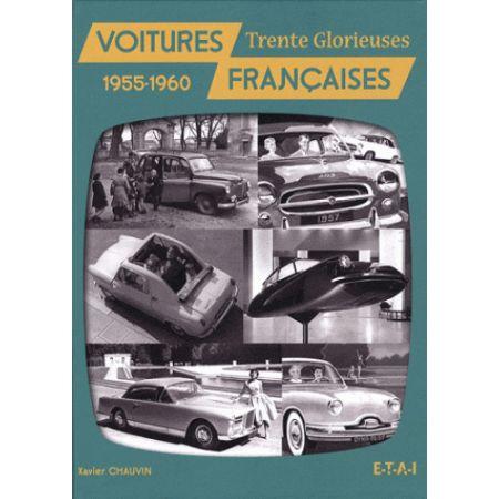 VOITURES FRANÇAISES 1955-1960 - livre