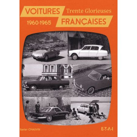 VOITURES FRANÇAISES 1960-1965 - livre