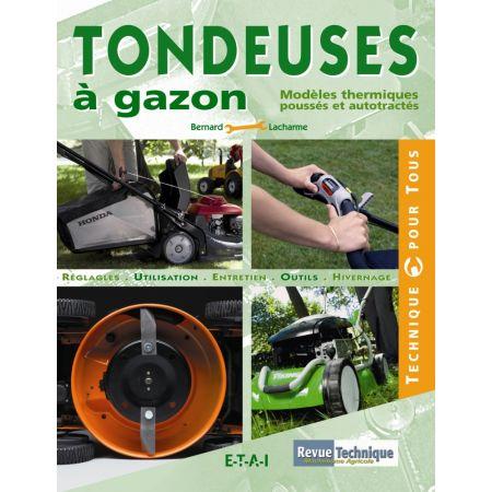 TONDEUSES À GAZON - livre