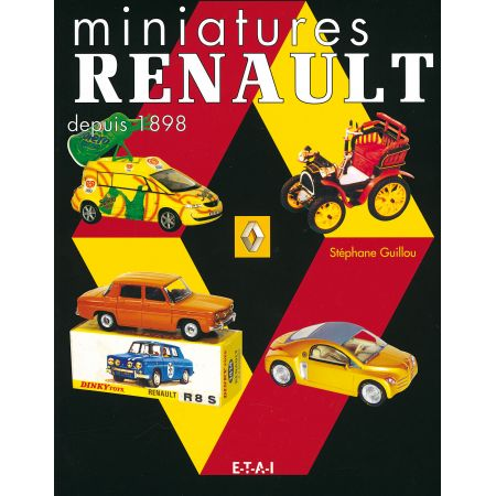 MINIATURES RENAULT DEPUIS 1898 - livre