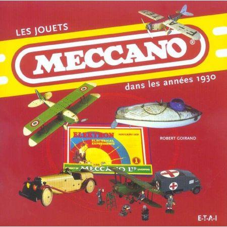 JOUETS MECCANO DANS LES ANNEES 1930 - livre