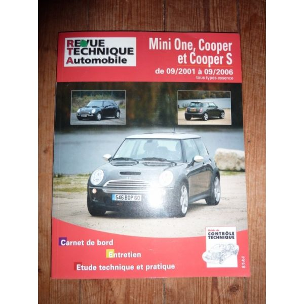 Mini One Cooper Cooper S Revue Technique Austin Mini Mg British Leyland bmw