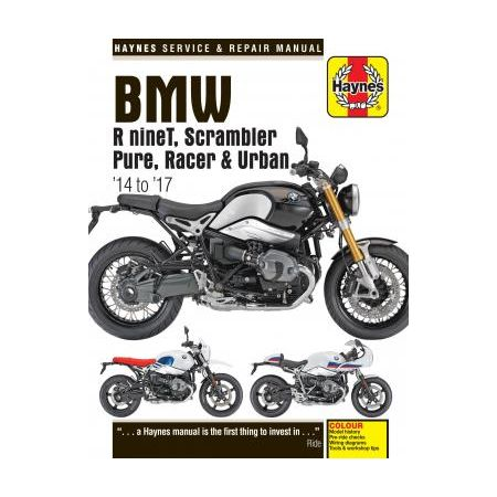 R nineT 14 - 17 Haynes BMW Manual Anglais
