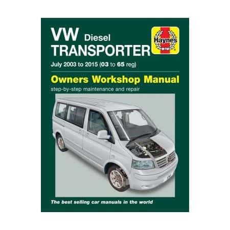 T5 Transporter 03-15 Haynes VW Manual Anglais
