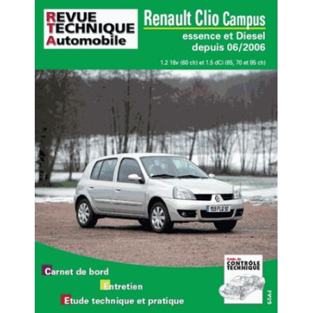 Clio Campus 06- Revue Technique Renault