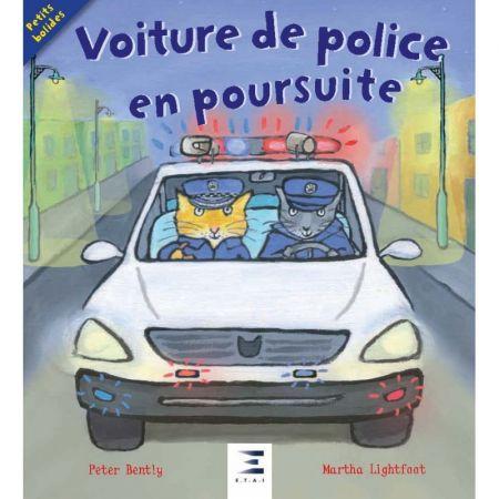 Voiture de police en poursuite - Livre