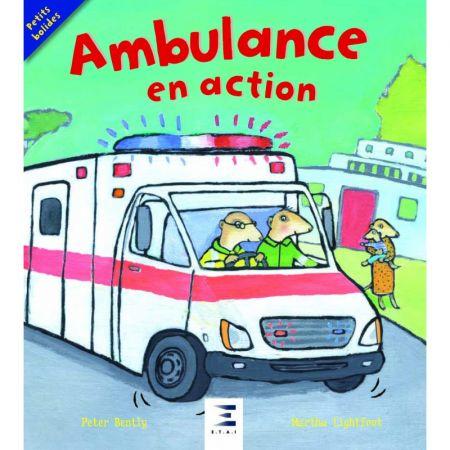 Ambulance en action - Livre