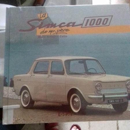 Simca 1000 de mon père - livre