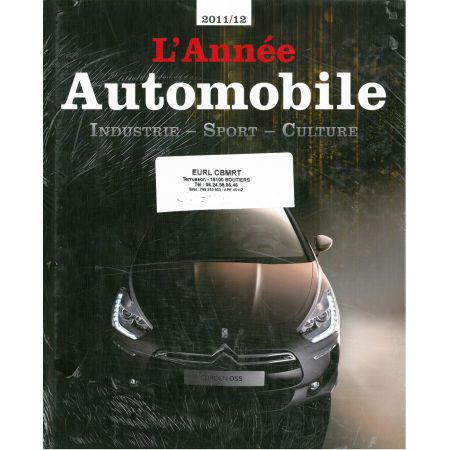 L'ANNEE AUTOMOBILE N° 59 (2011/2012) - livre