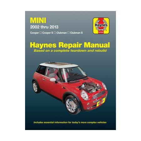 Cooper Clubman S 02-13) Haynes Repair Manual