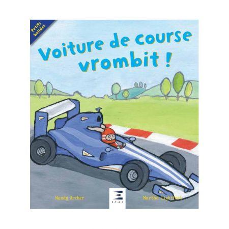 Voiture de course vrombit ! Ed 2018 - Livre BD