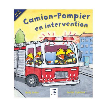 Camion-Pompiers en intervention Ed 2018 - Livre BD