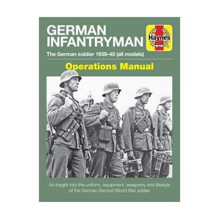 German Infantryman Revue technique Haynes Anglais