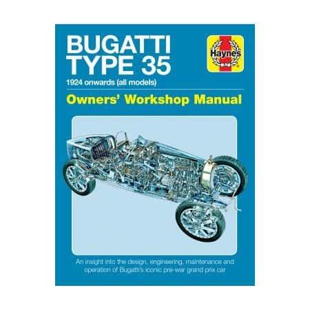 Bugatti Type 35 owner's workshop Haynes Anglais