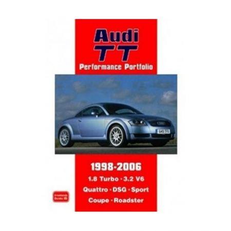 AUDI TT PERFORMANCE PORTFOLIO 1998-2006- Livre