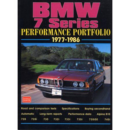 BMW 7 SERIES 77-86 - Livre Anglais