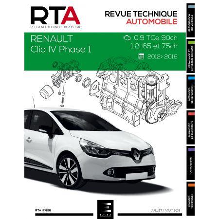 Clio IV Ph.1 0.9 TCe 1.2i 12-16 Revue Technique RENAULT