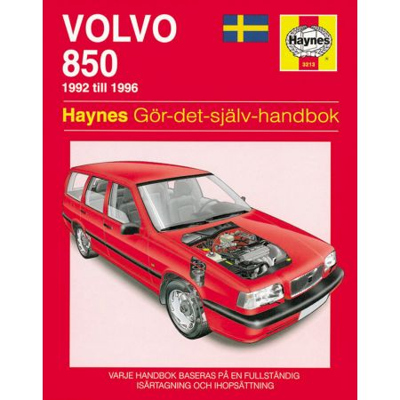 Volvo 850 92 -96 Swedish Revue technique Haynes