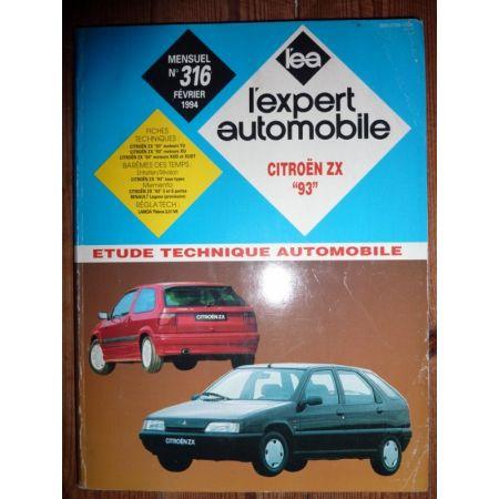 ZX 1993 Revue Technique Citroen
