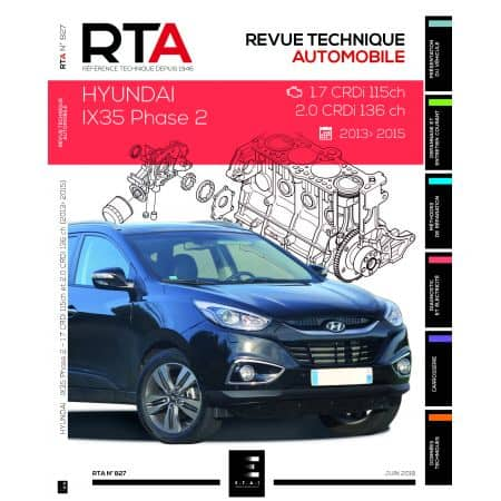 IX35 BREAK 5P Phase 2 13-15 Revue Technique HYUNDAI