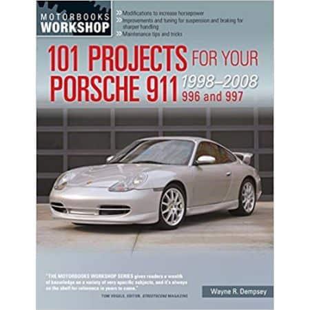 101 PROJECTS PORSCHE 911 996-997 98-08 - Livre Anglais