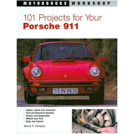 101 PROJECTS PORSCHE 911 64-89 - Livre Anglais