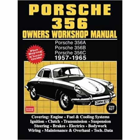 PORSCHE 356 57-65 OWNER'S MANUAL - Livre Anglais