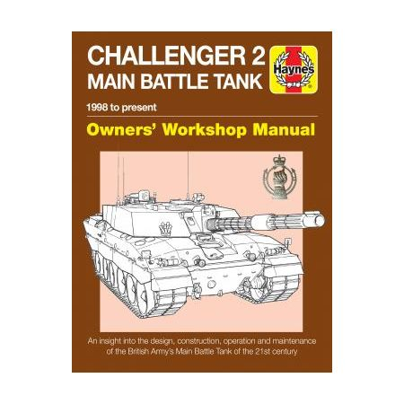 Challenger 2 Main Battle Tank Manual Revue technique Haynes Anglais