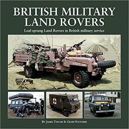 BRITISH MILITARY LAND ROVER - Livre Anglais