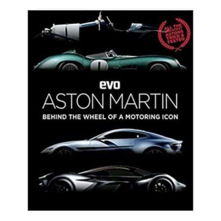 ASTON MARTIN BEHIND THE WHEEL - Livre Anglais