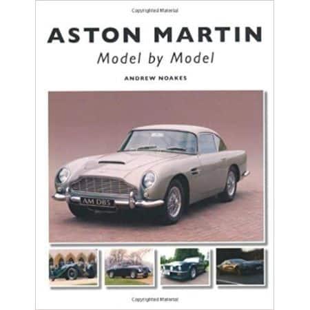 ASTON MARTIN MODEL BY MODEL - Livre Anglais