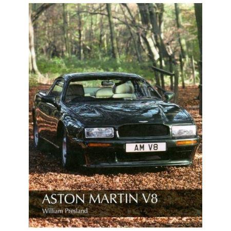 ASTON MARTIN V8 - Livre Anglais