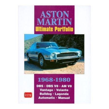 ASTON MARTIN 68-80 - Livre Anglais