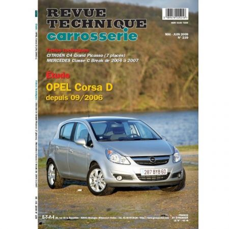 CORSA D 06- Revue Technique Carrosserie OPEL