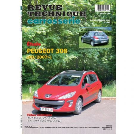 308 07- Revue Technique Carrosserie PEUGEOT