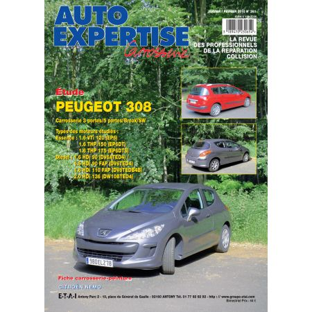 308 09/07- Revue Auto Expertise PEUGEOT