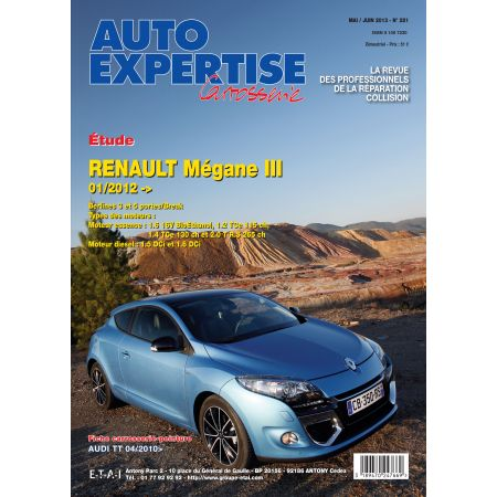 MEGANE III 06/-09-03/10 Revue Auto Expertise RENAULT