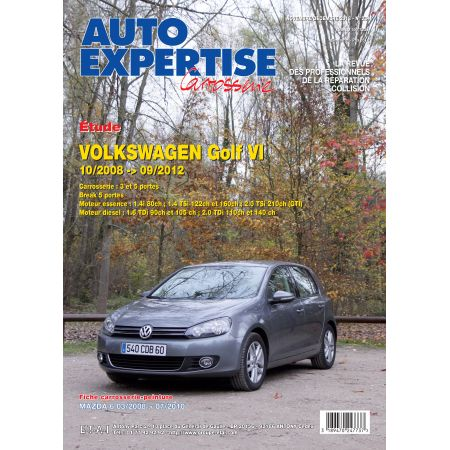 GOLF VI 10/08-09/12 Revue Auto Expertise VW